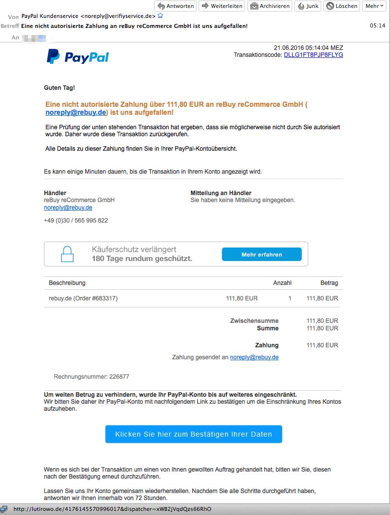 Rebuy Recommerce Gmbh Amazon Fake